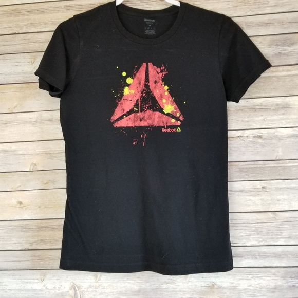 Reebok Other - Reebok Men's Delta Logo T-Shirt Black with Red  M